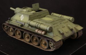 35181 SU-122 Early Production + Valery Popov