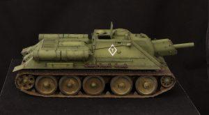 35181 SU-122 Early Production + Valery Popov