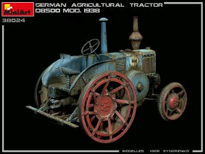 Photos 38024 GERMAN AGRICULTURAL TRACTOR D8500 MOD. 1938