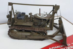 35291 U.S. ARMORED TRACTOR WITH ANGLE DOZER BLADE + ML Scale Model Building