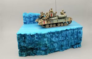 35116 BRITISH INFANTRY TANK VALENTINE Mk.I w/CREW + E-Num Naronkorn by Mr. Zombie