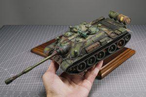 37042 SU-122-54 LATE TYPE + Mumu zheng's Scale model