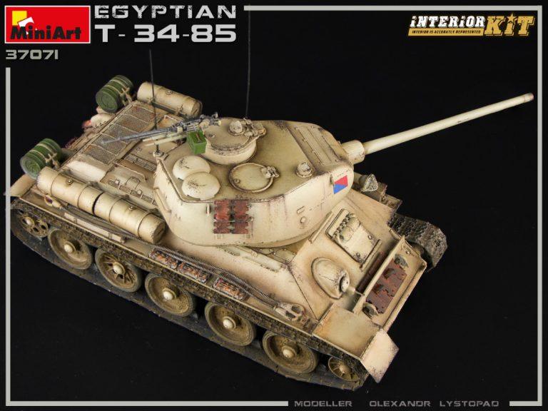 37071 埃及T-34/85坦克 带内构