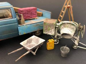 35593 CONCRETE MIXER SET + Marcello Garrisi
