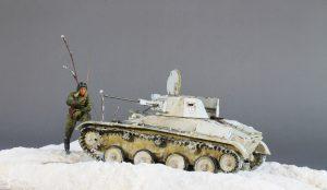 35215 T-60 EARLY SERIES. SOVIET LIGHT TANK. INTERIOR KIT + Sergey Berkutov