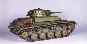 35194 T-70M SOVIET LIGHT TANK w/CREW. SPECIAL EDITION + Dmitry Slivkov