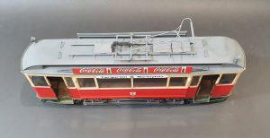 38009 EUROPEAN TRAMCAR (StraBenbahn Triebwagen 641) w/CREW & PASSENGERS + Vadim Avanesov