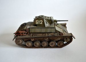 35194 T-70M SOVIET LIGHT TANK w/CREW. SPECIAL EDITION + Ilya Zavitov