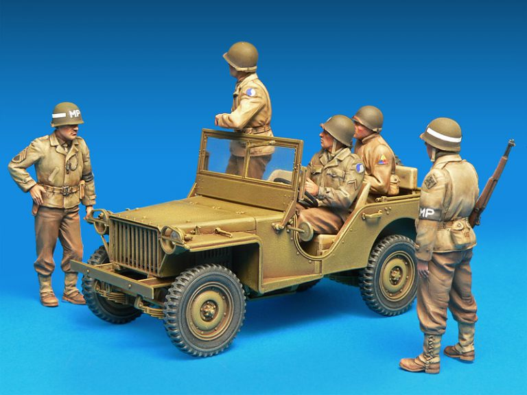 35308 U.S. JEEP CREW & MPs. SPECIAL EDITION