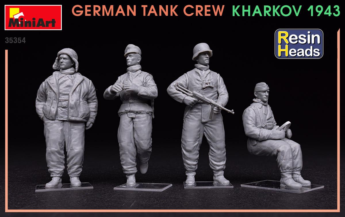 Spec Edit MIN35319 Miniart 1:35 Scale Model Kit-German Tank Repair Crew