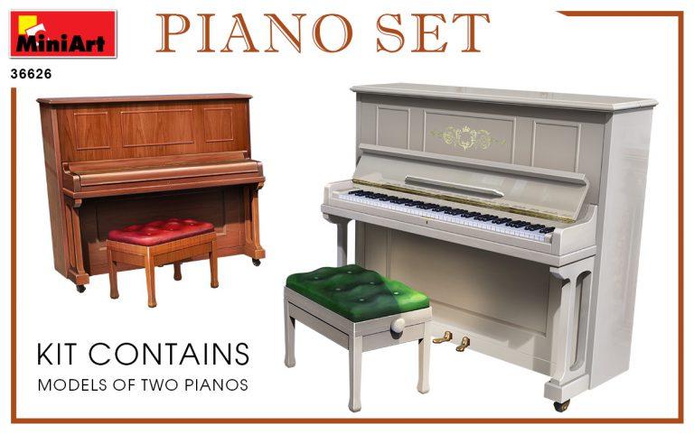 35626 PIANO SET