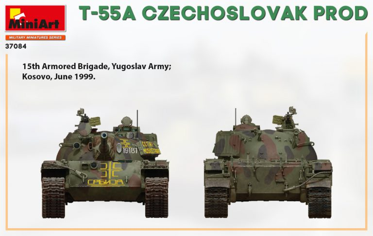 37084 T-55A CZECHOSLOVAK PRODUCTION
