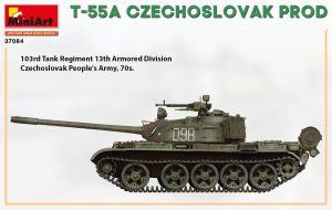 Side views 37084 T-55A CZECHOSLOVAK PRODUCTION