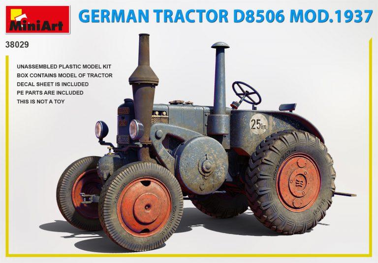 38029 ドイツ製トラクター D8506 1937年製