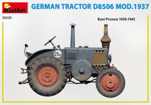Side views 38029 GERMAN TRACTOR D8506 MOD. 1937