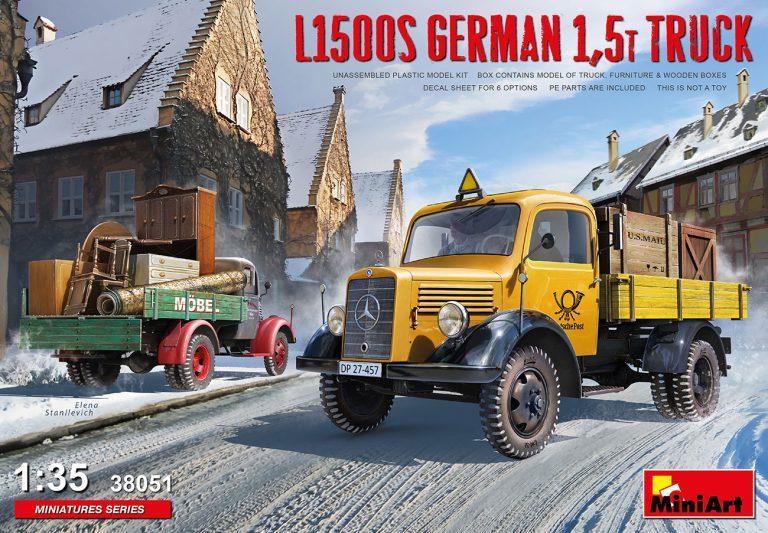 38051 L1500S GERMAN 1,5T TRUCK