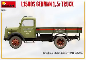Side views 38051 L1500S GERMAN 1,5T TRUCK