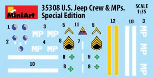 Content box 35308 U.S. JEEP CREW & MPs. SPECIAL EDITION