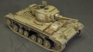 35100 Pz.Kpfw. Mk.III 749(e) VALENTINE III w/CREW + Anatoly Pozhidaev