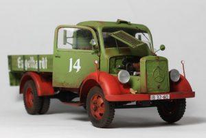 38014 GERMAN CARGO TRUCK L1500S + D. Models