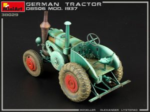 Photos 38029 GERMAN TRACTOR D8506 MOD. 1937