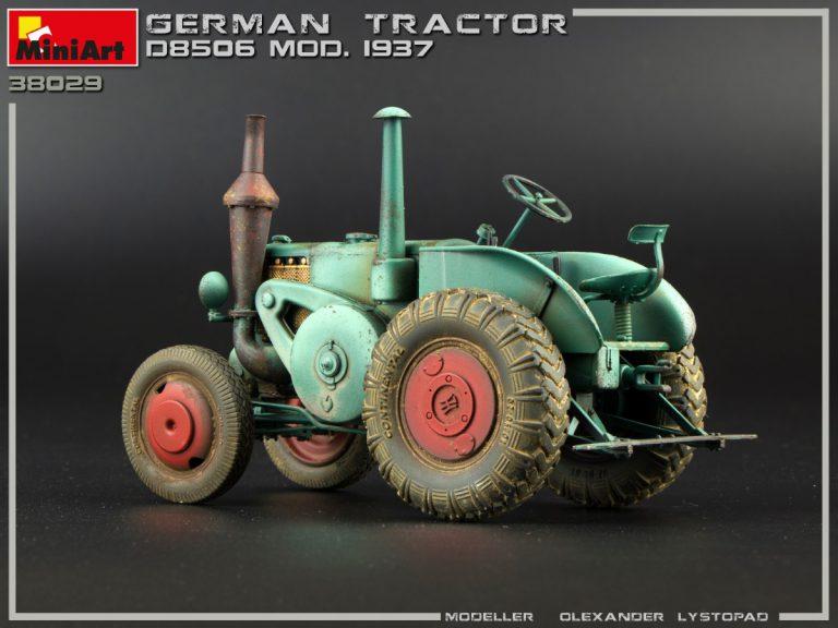 38029 GERMAN TRACTOR D8506 MOD. 1937