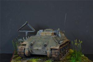 35181 SU-122 Early Production + Alexey Slesarev