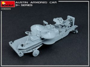 Build up 39005 AUSTIN ARMORED CAR 3rd SERIES: UKRAINIAN, POLISH, GEORGIAN, ROMANIAN SERVICE. INTERIOR KIT