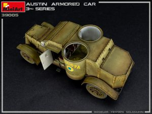 Photos 39005 AUSTIN ARMORED CAR 3rd SERIES: UKRAINIAN, POLISH, GEORGIAN, ROMANIAN SERVICE. INTERIOR KIT