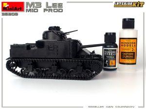 Build up 35209 M3 LEE MID PROD. INTERIOR KIT
