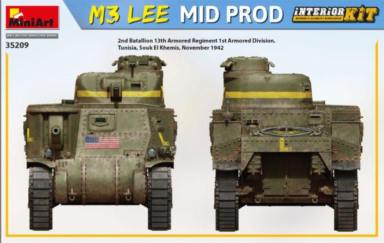 35209 M3 LEE MID PROD. INTERIOR KIT