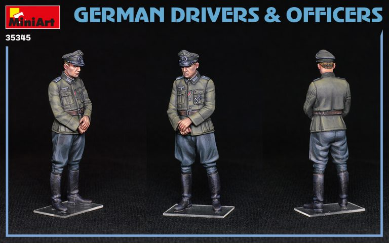 35345 GERMAN DRIVERS & OFFICERS