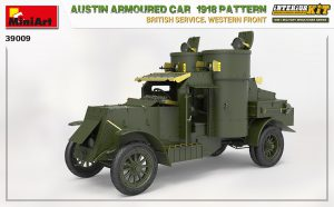 3D renders 39009 AUSTIN ARMOURED CAR 1918 PATTERN. BRITISH SERVICE. WESTERN FRONT. INTERIOR KIT