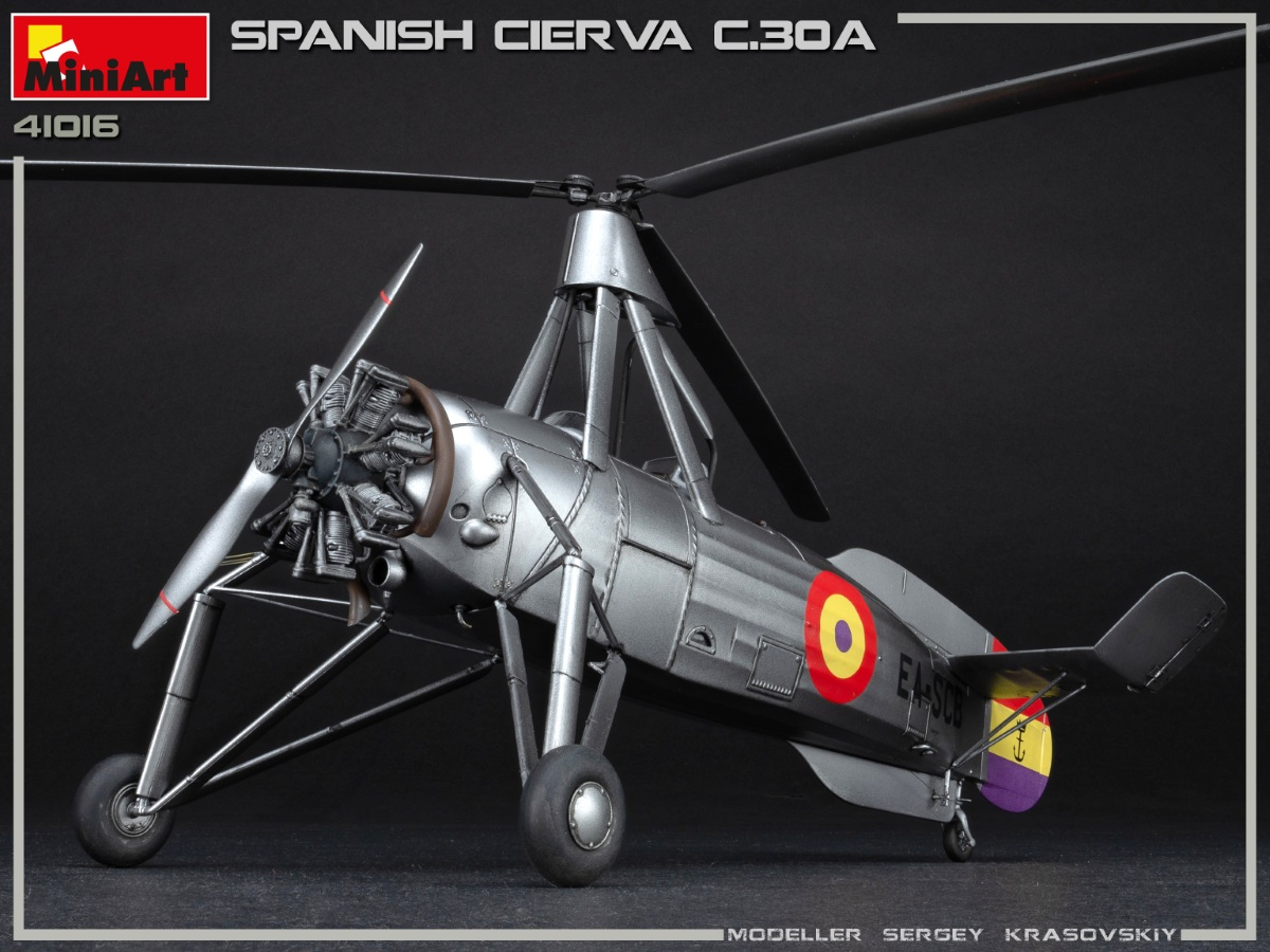 New Photos of Kit: 41016 SPANISH CIERVA C.30A