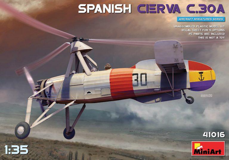 41016 SPANISH CIERVA C.30A