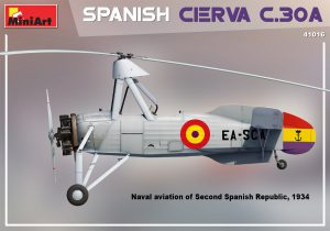 Side views 41016 SPANISH CIERVA C.30A