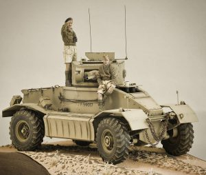 35152 AEC Mk.I ARMOURED CAR + Glacial Pace Scale Modeling