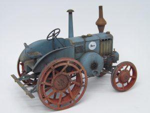 38024 GERMAN AGRICULTURAL TRACTOR D8500 MOD. 1938 + Abilio Piñeiro Grajera