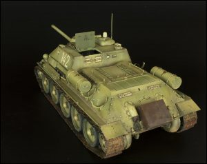 35187 SU-85 SOVIET SELF-PROPELLED GUN. INTERIOR KIT + Ivan Kolesnikov