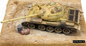 37027 T-55 SOVIET MEDIUM TANK + Rod The Fixer
