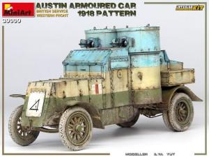 39009 AUSTIN ARMOURED CAR 1918 PATTERN. BRITISH SERVICE. WESTERN FRONT. INTERIOR KIT