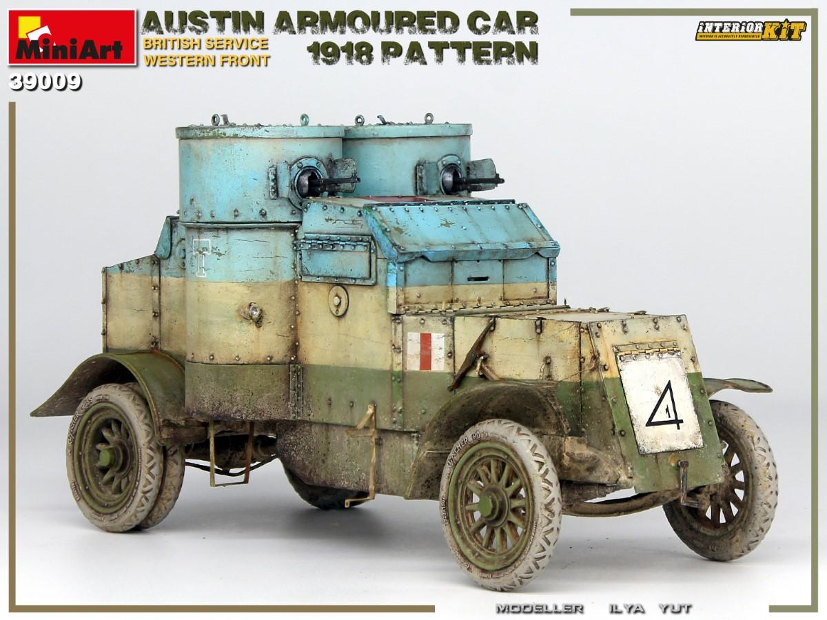 New Photos of Kit: 39009 AUSTIN ARMOURED CAR 1918 PATTERN. BRITISH SERVICE. WESTERN FRONT. INTERIOR KIT