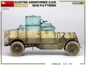 39009 AUSTIN ARMOURED CAR 1918 PATTERN. BRITISH SERVICE. WESTERN FRONT. INTERIOR KIT Ilya Yut