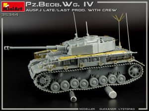 Build up 35344 Pz.Beob.Wg.IV Ausf. J LATE/LAST PROD. 2 IN 1 W/CREW