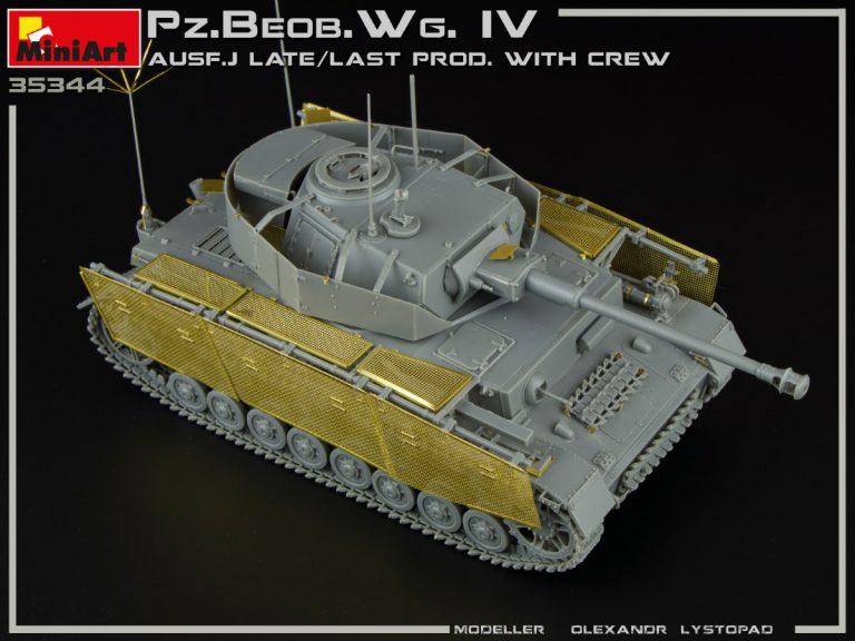 35344 Pz.Beob.Wg.IV Ausf. J LATE/LAST PROD. 2 IN 1 W/CREW