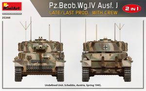 Side views 35344 Pz.Beob.Wg.IV Ausf. J LATE/LAST PROD. 2 IN 1 W/CREW