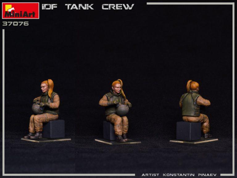 37076 IDF TANK CREW