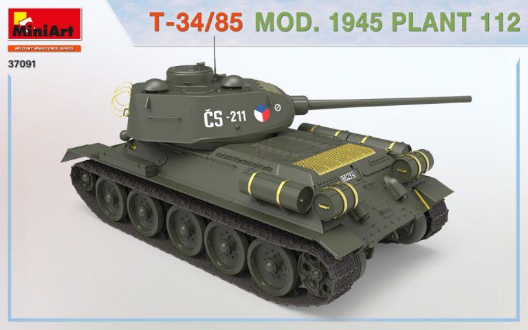 37091 T-34/85 1945年第112工場製