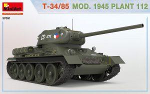 3D renders 37091 T-34/85 Modell 1945 Fabrik 112