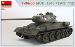 3D renders 37091 T-34/85 1945年第112工場製